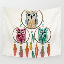 dream owl Wall Tapestry