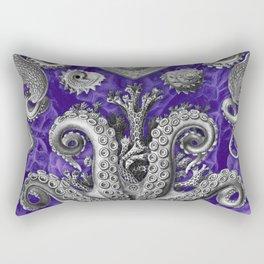 The Kraken (Purple - No Text) Rectangular Pillow