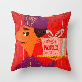 Mendl's Throw Pillow