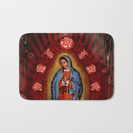 Virgin de Guadalupe Bath Mat