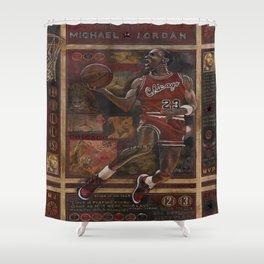 Micheal Jordan Shower Curtain