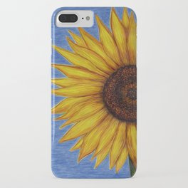 Sunflower by Lars Furtwaengler | Ink Pen | 2011 iPhone Case
