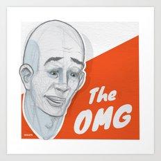 The OMG Art Print