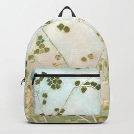 mosaica glitterati in blue + gold Backpack