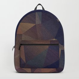 Abstract polygonal Backpack