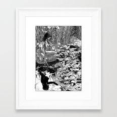 asc 534 - La Dame du lac (Viviane) Framed Art Print