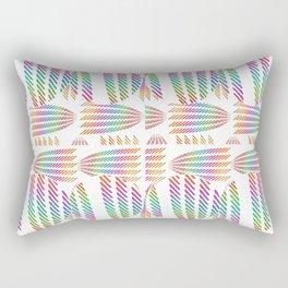 Flora Imagery Rectangular Pillow
