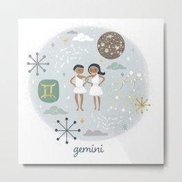 Gemini Air Metal Print