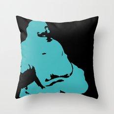 Fancy Buddha  Throw Pillow