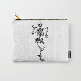 Skeleton Happy Dancing Carry-All Pouch