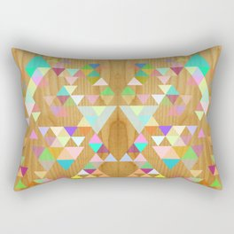 Things fall into place Rectangular Pillow