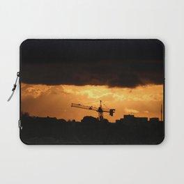 sunrise on the city Laptop Sleeve