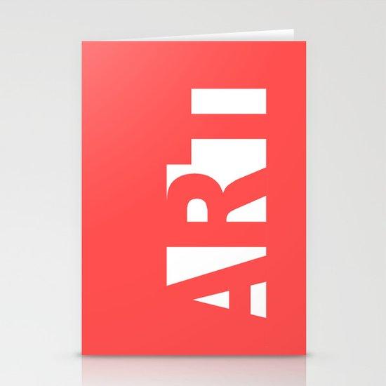 Minimalist  ART Stationery Cards