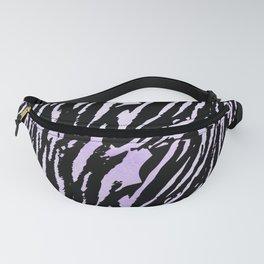 Tiger Purple Watercolor Gradient Fanny Pack