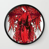 religion Wall Clocks featuring My religion by Tshirt-Factory