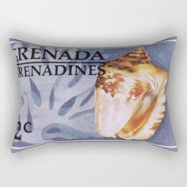 Hawk-wing Conch Rectangular Pillow