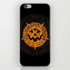 Cult of the Great Pumpkin: Alchemy Logo iPhone & iPod Skin