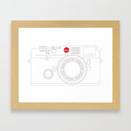 Leica M6 Framed Art Print