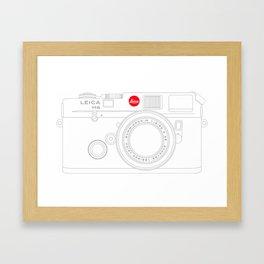 Leica M6 Framed Art Print