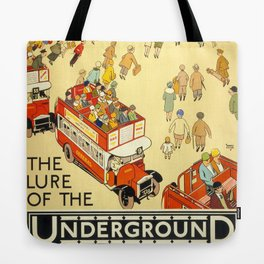 The Lure Of The Underground Tote Bag