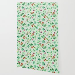 Classic Floral Pattern Wallpaper