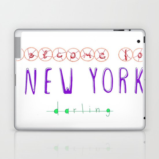 Welcome to New York Laptop & iPad Skin