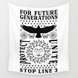 For Future Generations Wall Tapestry