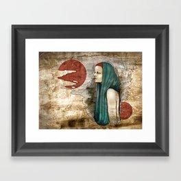 """Romaine Dust"" by carographic Framed Art Print"