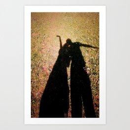 Sunshine Shadow's Art Print