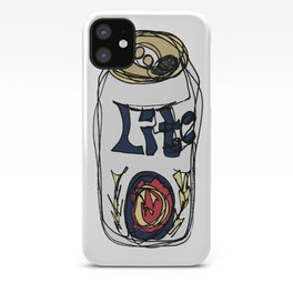 Miller Lite Can iPhone Case