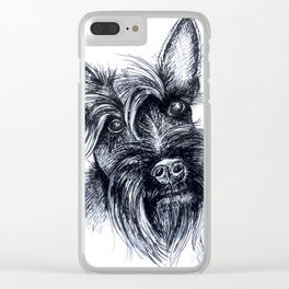 Terriers Rock Clear iPhone Case