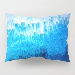 Rhythmic - Abstract Pixel Art Pillow Sham