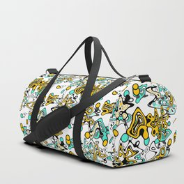 Multicolored abstract pattern Duffle Bag