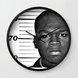 Jackson, Curtis Mugshot Wall Clock