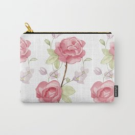 All Rosey  Carry-All Pouch