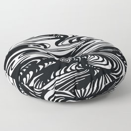 State Of The Climate Landscape Floor Pillow