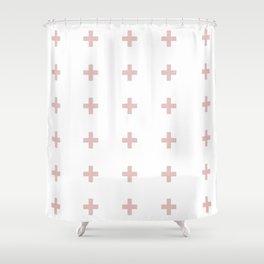 +++ (Pink) Shower Curtain