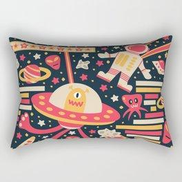 Alien Patterns Rectangular Pillow