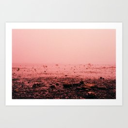 Red Fog Art Print