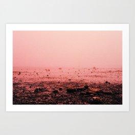 Red Fog Art Print