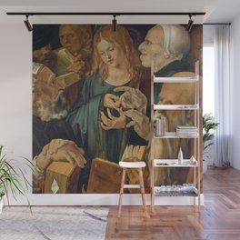 Christ among the Doctors by Albrecht Durer Wall Mural