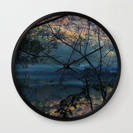 Autumn. Wall Clock