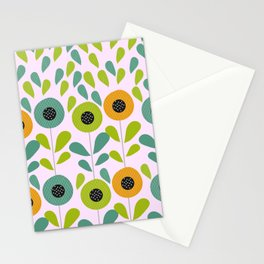 Cheery spring flowers Stationery Cards