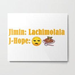 BTS Lachimolala Metal Print