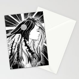 Her Soul is Wild Stationery Cards