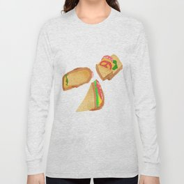 Akward Sandwich Long Sleeve T-shirt