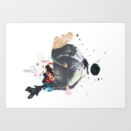 Strange Universe Art Print