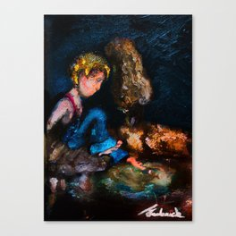TEZ Canvas Print