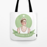 niall Tote Bags featuring Niall Horan by vulcains