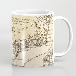 Vintage Map of Greenland (1791) Coffee Mug
